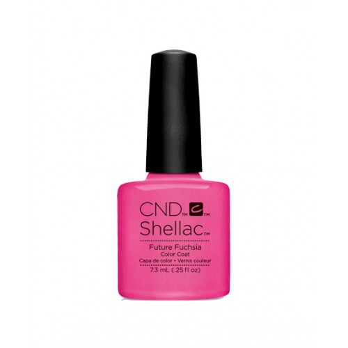 Vernis semi-permanent CND Shellac Future Fushia 7.3 ml