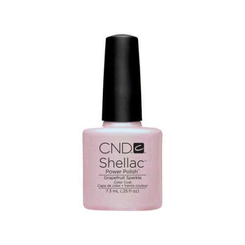 Vernis semi-permanent CND Shellac Grapefruit Sparkle 7.3 ml