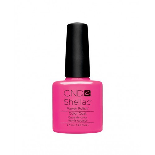 Vernis semi-permanent CND Shellac Hot Pop Pink 7.3 ml