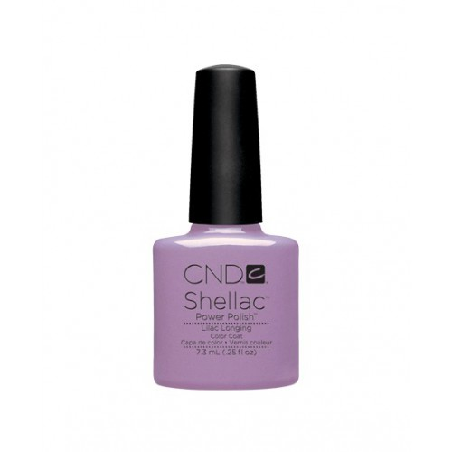 Vernis semi-permanent CND Shellac Lilac Longing 7.3 ml