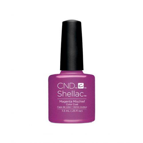 Vernis semi-permanent CND Shellac Magenta Mischief 7.3 ml