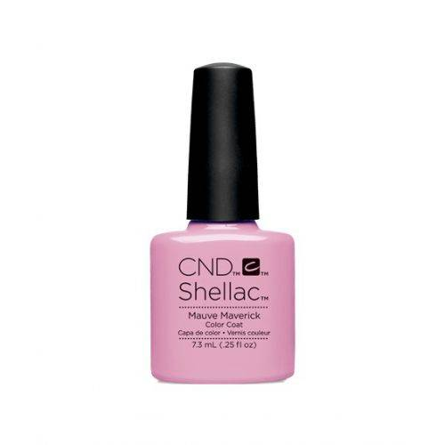 Vernis semi-permanent CND Shellac Mauve Maverick 7.3 ml