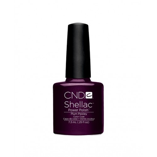 Vernis semi-permanent CND Shellac Plum Paisley 7.3 ml