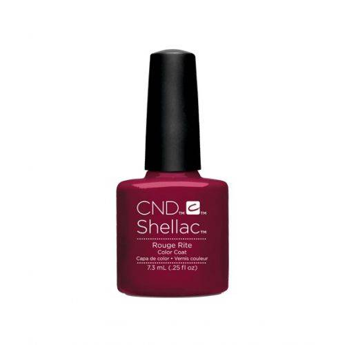 Vernis semi-permanent CND Shellac Rouge Rite 7.3 ml