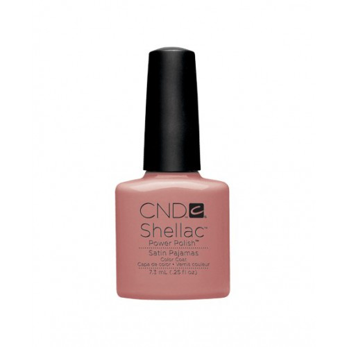Vernis semi-permanent CND Shellac Satin Pajamas 7.3 ml