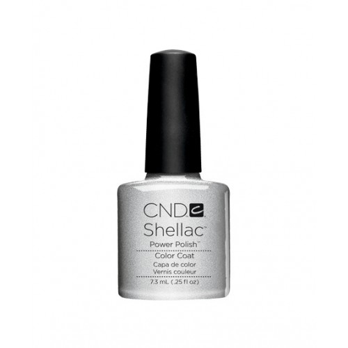 Vernis semi-permanent CND Shellac Silver Chrome 7.3 ml