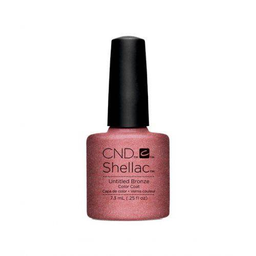 Vernis semi-permanent CND Shellac Untitled Bronze 7.3 ml