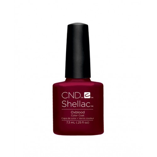 Vernis semi-permanent CND Shellac Oxblood 7.3 ml