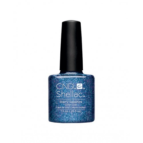 Vernis semi-permanent CND Shellac Starry Sapphire 7.3 ml