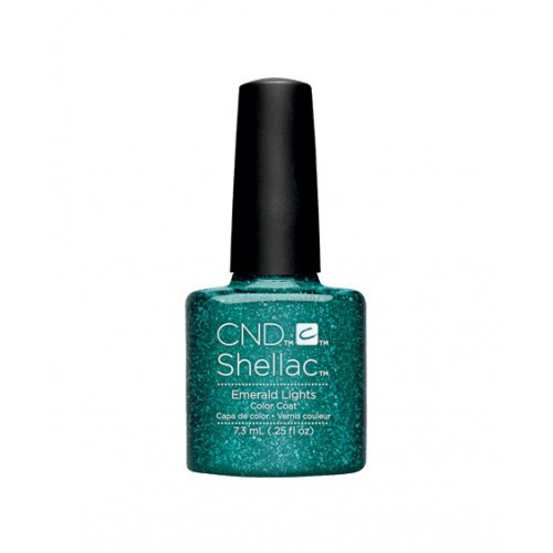 Vernis semi-permanent CND Shellac Emerald Lights 7.3 ml