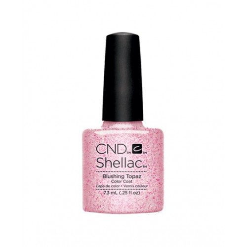 Vernis semi-permanent CND Shellac Blushing Topaz 7.3 ml