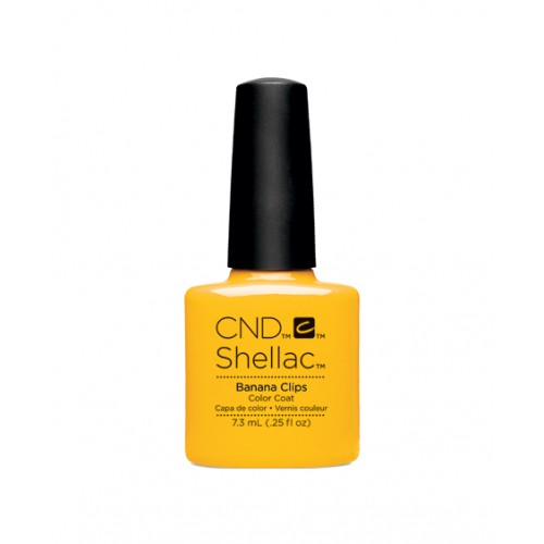 Vernis semi-permanent CND Shellac Banana Clips 7.3 ml - Edition Limitée