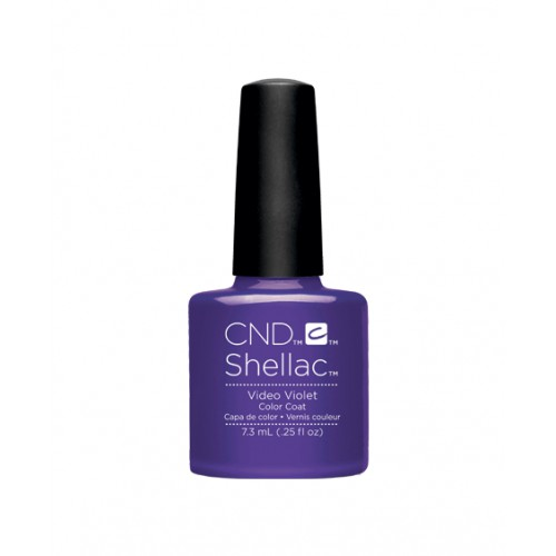 Vernis semi-permanent CND Shellac Video Violet 7.3 ml