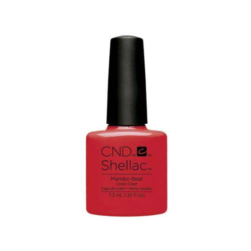 Shellac Mambo Beat 7,3 ml : rouge orangé