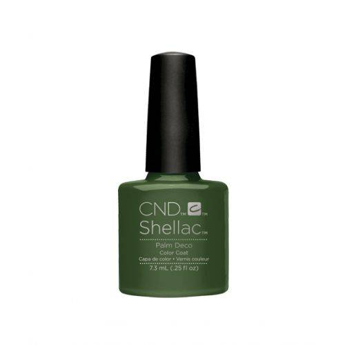 Shellac Palm Deco 7,3 ml : palmiers