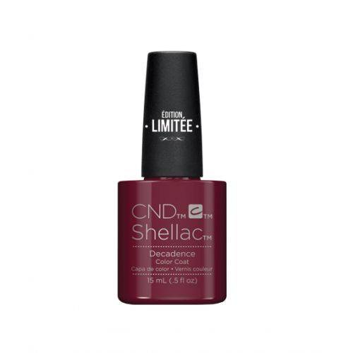 Edition limitée Shellac Decadence 15 ml : rouge iconique