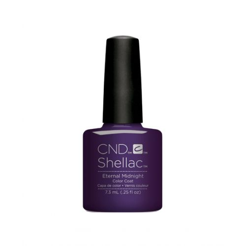 Vernis semi-permanent CND Shellac Eternal Midnight 7.3 ml