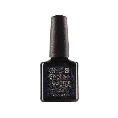Shellac Top Coat Glitter 7,3 ml : finition pailletée