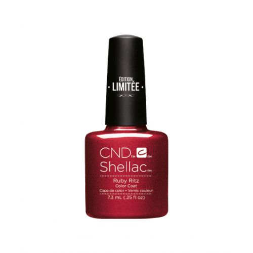 Vernis semi-permanent CND Shellac Ruby Ritz 7.3 ml - Edition Limitée