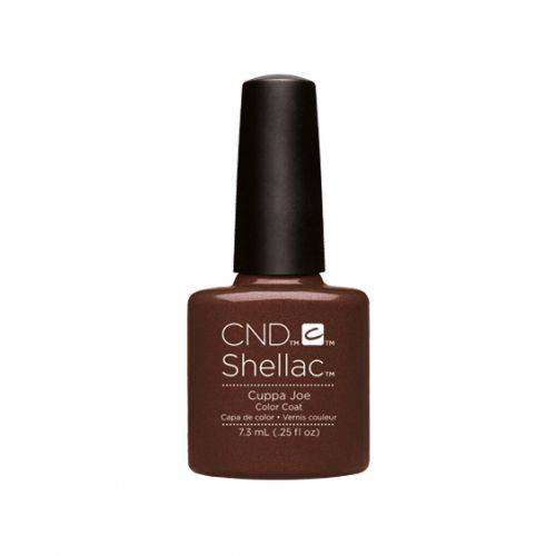 Vernis semi-permanent CND Shellac Cuppa Joe 7.3 ml