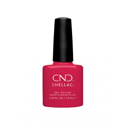 Vernis semi-permanent CND Shellac Kiss Of Fire 7.3 ml