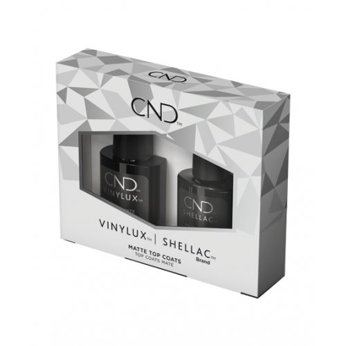 Duo shellac top coat mate et vinylux top coat mate edition limitée