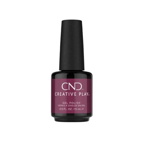 Gel polish CND Creative Play Currantly Single 15 ml - Edition Limitée