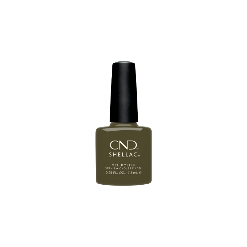 Vernis semi-permanent CND Shellac Cap  et  Gown 7.3 ml