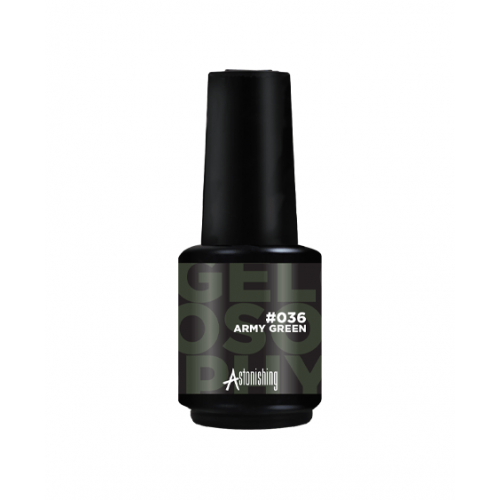 Gel polish Astonishing Gelosophy Army Green 15 ml