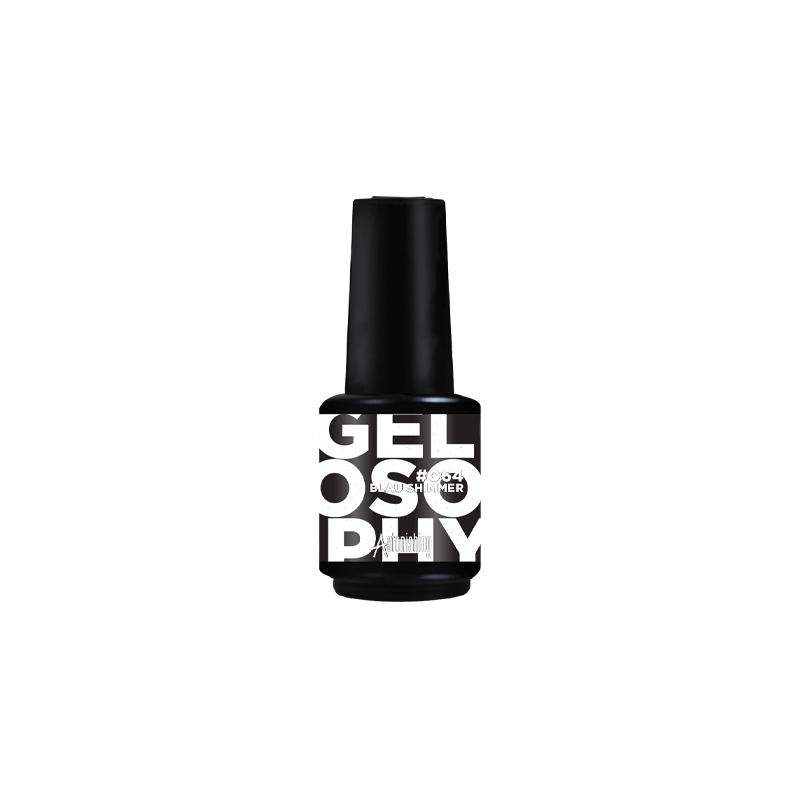 Gel polish Gelosophy Blau Shimmer 15 ml