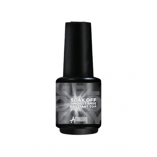 Gel polish Astonishing Gelosophy Top coat no-cleanse Brilliant 15 ml