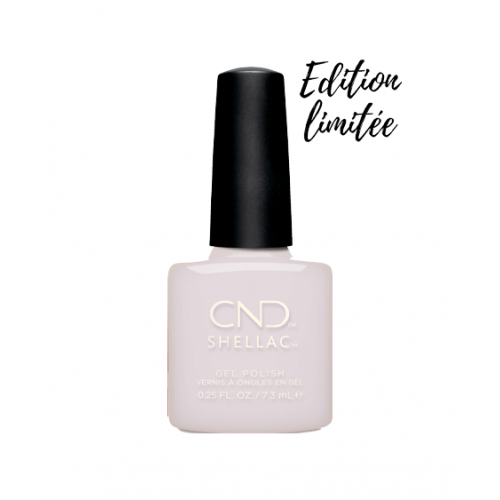Vernis semi-permanent CND Shellac Pointe Blanc 7.3 ml - Edition Limitée