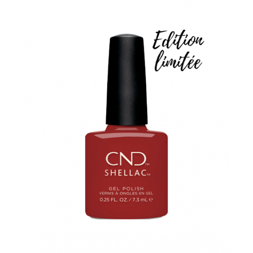 Vernis semi-permanent CND Shellac Company Red 7.3 ml