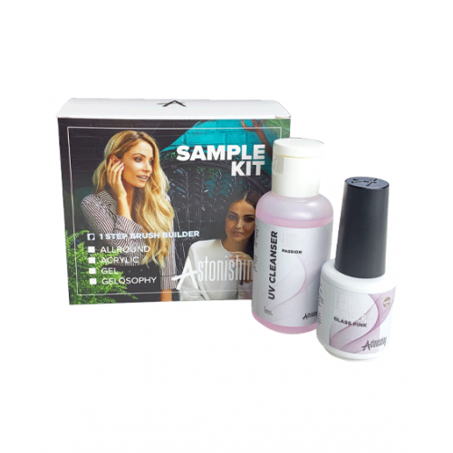 Gel Derma+ 1 Step Brush Builder Kit Découverte