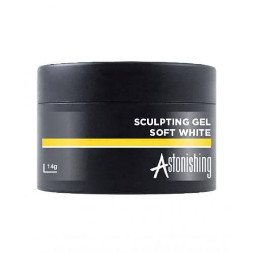 Astonishing Gel Sculpting Soft White 14 gr