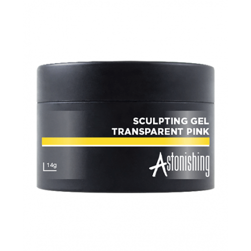 Astonishing Gel Sculpting Transparent Pink 14 gr