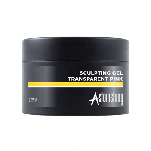 Astonishing Gel Sculpting Transparent Pink 45 gr