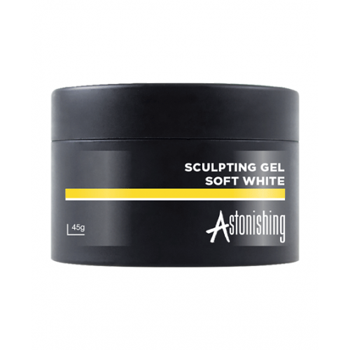 Astonishing Gel Sculpting Soft White 45 gr