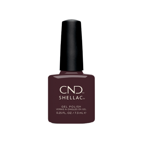Vernis semi-permanent CND Shellac Black Cherry 7.3 ml