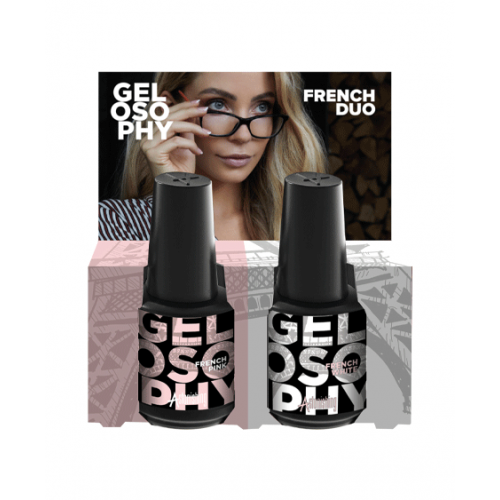 Gel polish Astonishing Gelosophy Duo French 2x15 ml