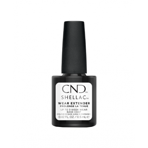 Vernis semi-permanent CND Shellac Base Wear Extender 12.5 ml
