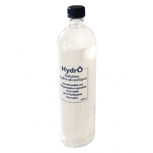 Solution Hydro Alcoolique 600 ml + 1 pompe vide OFFERTE