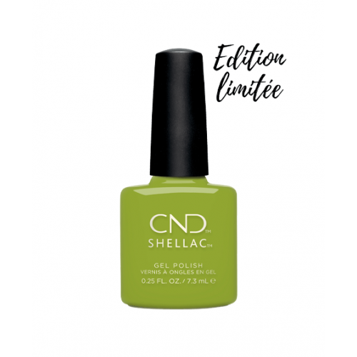 Vernis semi-permanent CND Shellac Crip Green 7.3 ml - Edition Limitée
