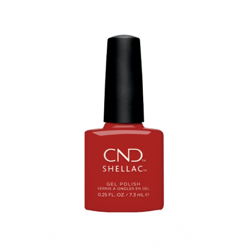 Vernis semi-permanent CND Shellac Devil Red 7.3 ml
