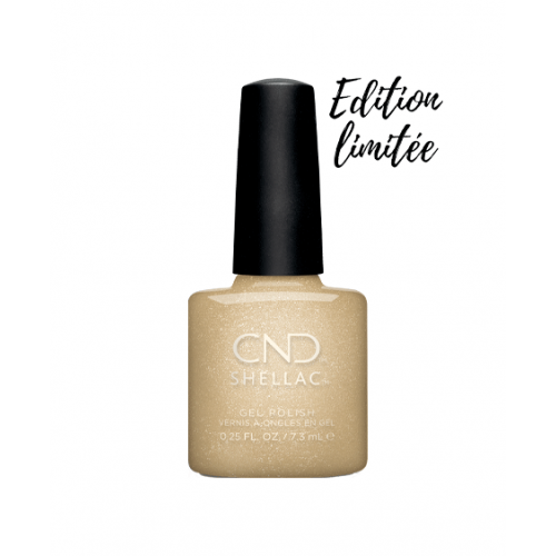 Vernis semi-permanent CND Shellac Get That Gold 7.3 ml - Edition Limitée