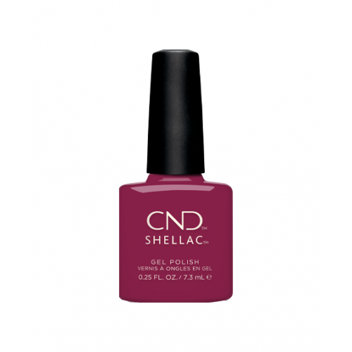 Vernis semi-permanent CND Shellac How Merlot 7.3 ml