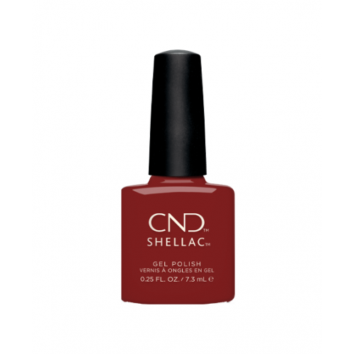 Vernis semi-permanent CND Shellac Bordeaux Babe 7.3 ml