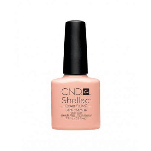 Vernis semi-permanent CND Shellac Bare Chemise 7.3 ml