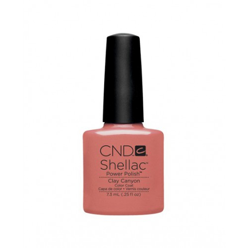 Vernis semi-permanent CND Shellac Clay Canyon 7.3 ml