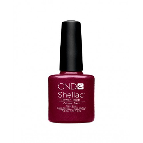 Vernis semi-permanent CND Shellac Crimson Sash 7.3 ml